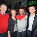 Pictured left is Mayo GAA County Secretary Sean Feeney, his wife Mary,