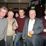 Enjoying the night were LtoR: Pat McNicholas, Tom Beisty, John Maloney